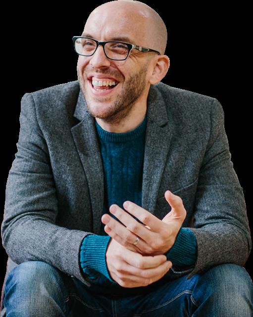 Dave Holloway - author, Wonder Leads